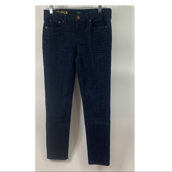 J. Crew Factory toothpick straight jeans blue 28